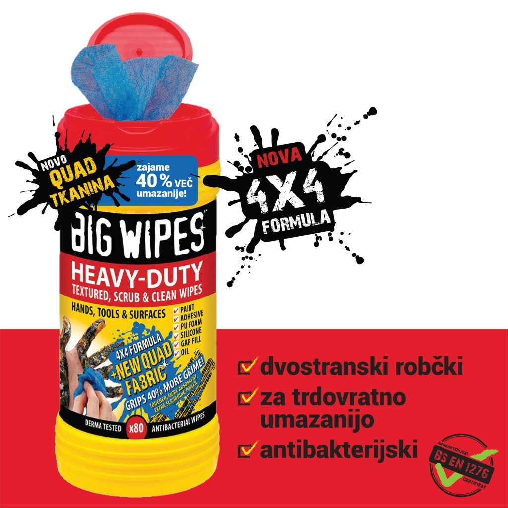 Heavy Duty BIG WIPES