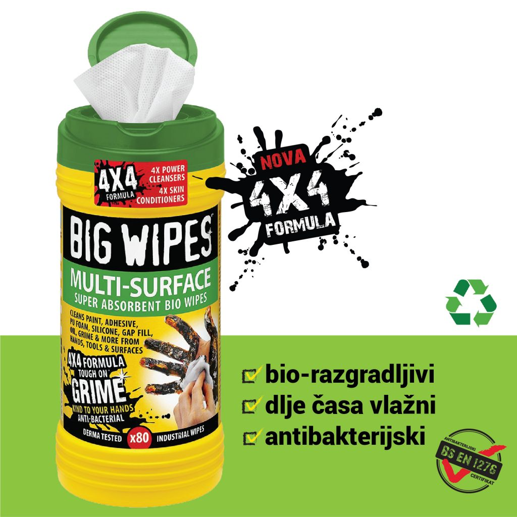 Multi Surface BIG WIPES